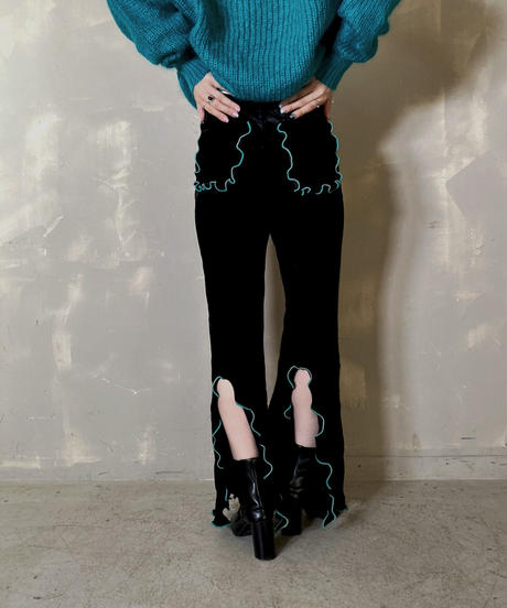 【RE;CIRCLE】 Mellow  Velour  Pants ② / 201212-003