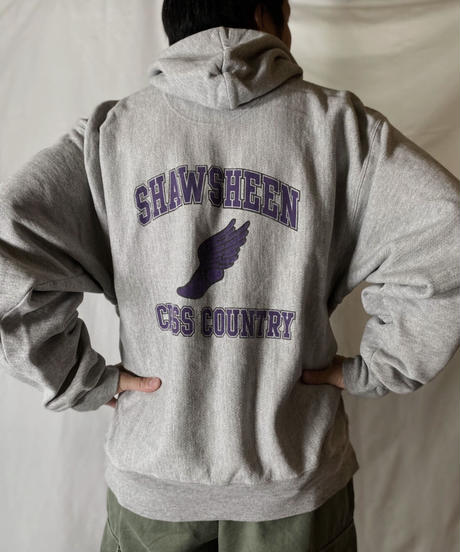 【USED】  Champion Reverse Weave Sweat CROSS COUNTRY/210902-049