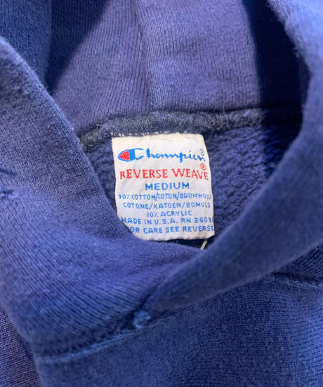 【USED】90's USA Champion Reverse Weave Hoodie  /210213-003