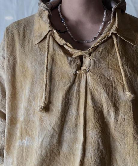 【RE;CIRCLE】Tie Dye Dyeing  Mexican shirt① /210226-003