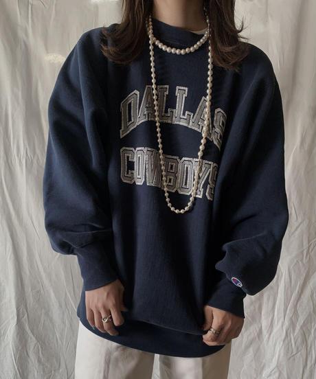 【USED】 80's USA Champion Reverse WeaveDALLAS COWBOYS/210324-015