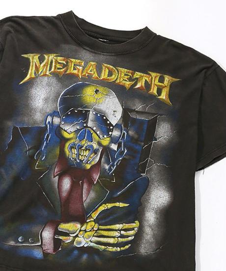 【Used】Heavy Metal Rock T-shirt  MEGADETH (Heavy Metal Rock11)
