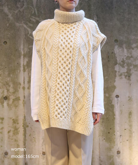 [Remake] No Sleeve Knit 5