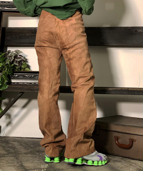 【Used】Suede  Pants / 201008-017
