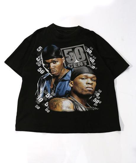 【Used】Hip-Hop T-shirt  50CENT (Hip-Hop5)