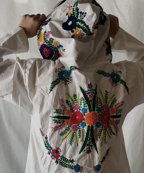 【RE;CIRCLE】RE Embroidery Ethnic Mexican Parker ② /210601-002