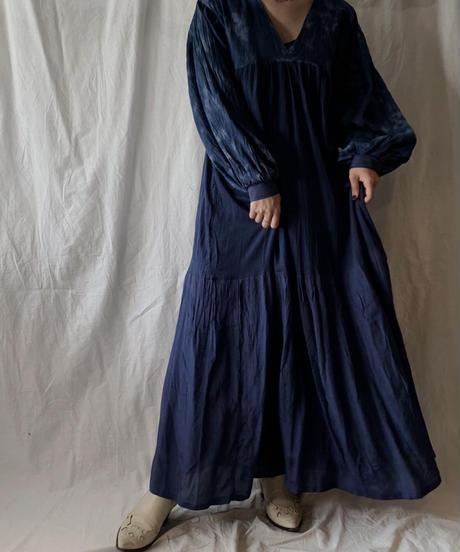 【RE;CIRCLE】 Remake Indy Cotton MUJI one-piece②/210331-002