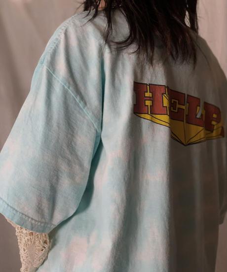 "【USED】 S/S T-shirt THE BAETLES ""HELP!""/210526-052"
