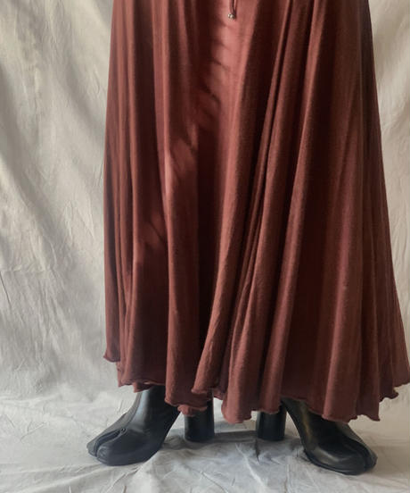 【USED】 Cotton Long Skirt/210303-033