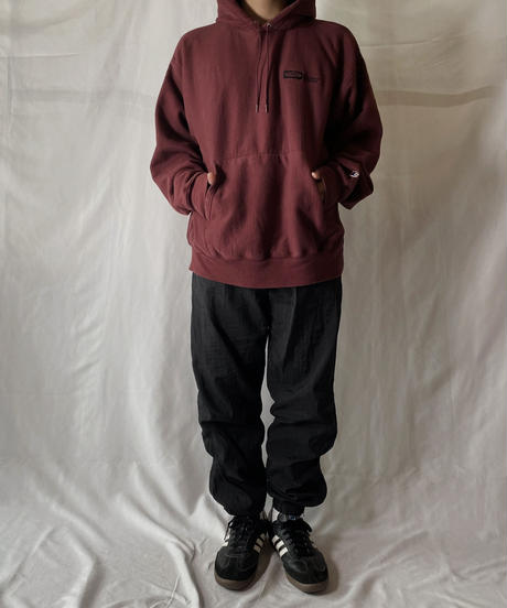 【USED】  Champion Reverse Weave Hoodie HUBBELL/210902-038