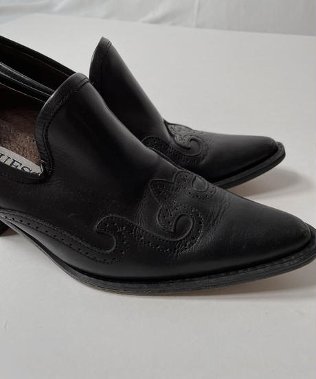 【USED】 Western  Leather Shoes/210826-006