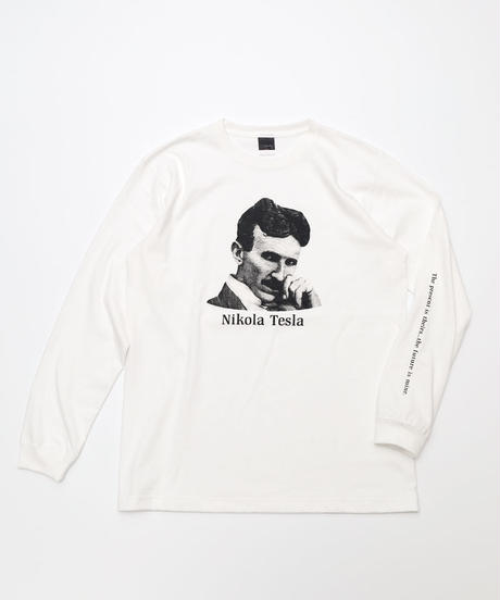 [curiosity] Long sleeve T-shirt Nikola Tesla