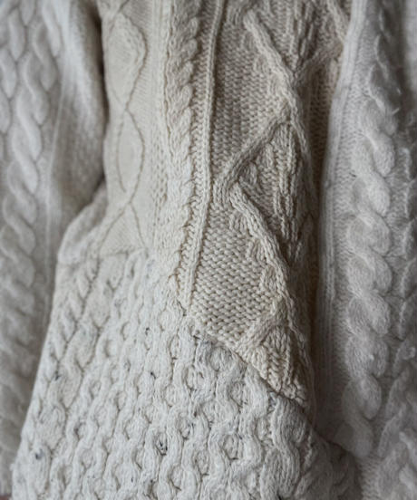 【RE;CIRCLE】 RE Alan Knit Patch Work Top⑤/211008-024