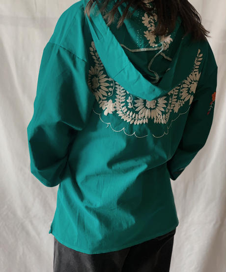 【RE;CIRCLE】RE Embroidery Ethnic Mexican Parker ⑤ /210601-007