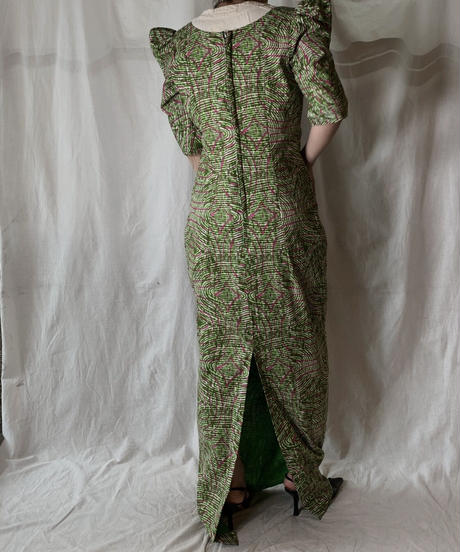 【USED】 African Batik One-piece⑤/210428-016