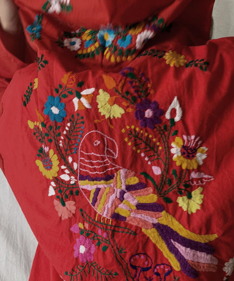 【RE;CIRCLE】RE Embroidery Ethnic Mexican Parker ⑨ /210601-012