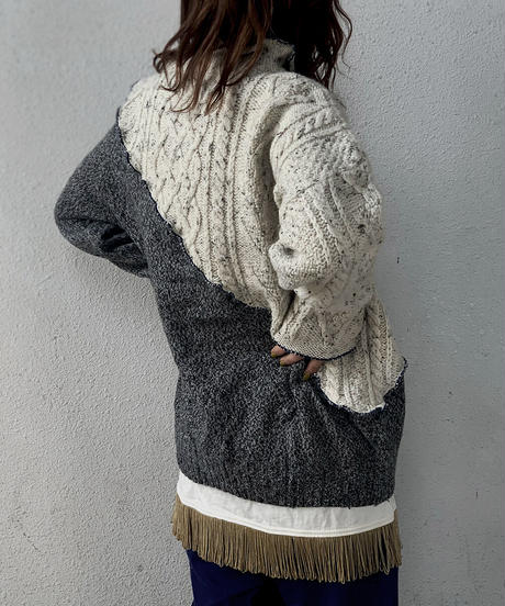 【RE;CIRCLE】 Mellow Aran Knit ② /210106-014