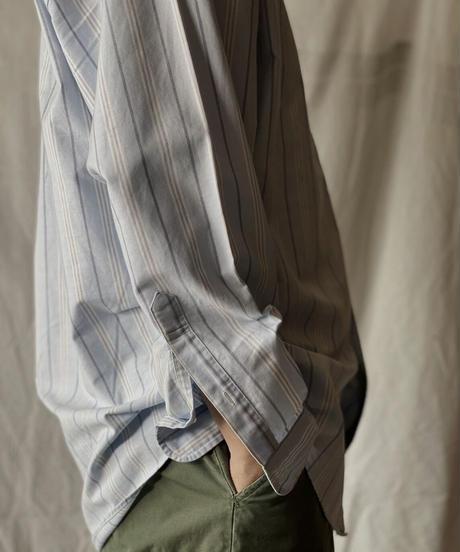【USED】 Brooks Brothers L/S Strip Shirt⑥/210624-009