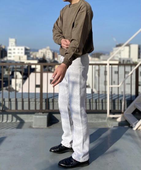 【MAX WEIGHT JERSEY】 202 (Khaki) (長袖 ポケット付)