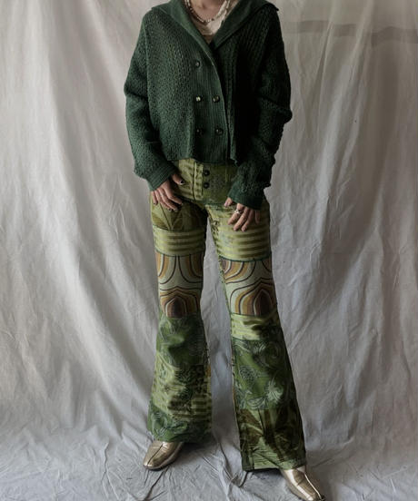 【USED】Patchwork Pants/210217-040