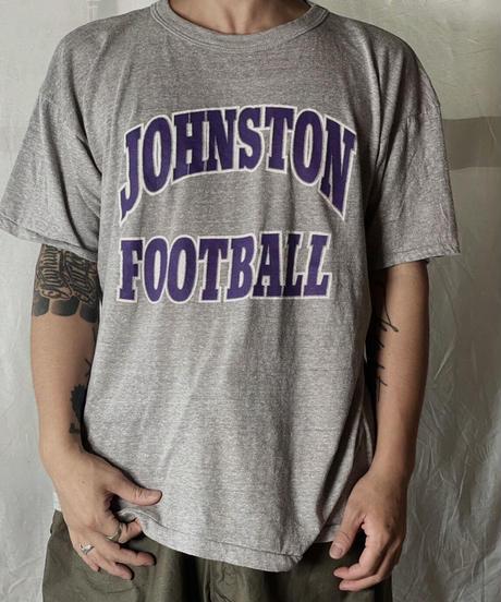 【USED】 S/S Team T-shirt JOHNSON FOOTBALL /210708-014