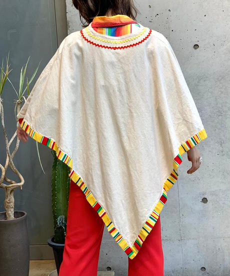 【Used】Mexican Poncho /200728-014