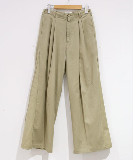 [REMAKE] CHINO WIDE PANTS 1