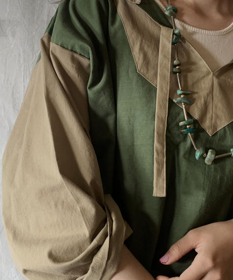 【RE;CIRCLE】RE Embroidery Ethnic Mexican Parker ⑩ /210601-013