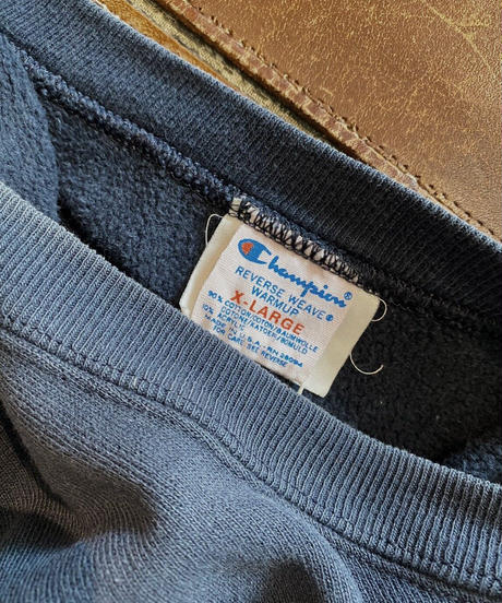 【USED】80's USA Champion Reverse Weave Sweat One Point /210213-016