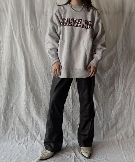 【USED】 80's USA Champion Reverse Weave HARVARD/210324-005