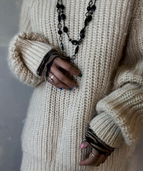 【USED】 Wool Knit / 201125-023