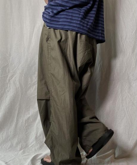 【USED】 Army Tie dye Snow Pants④/ 210708-015