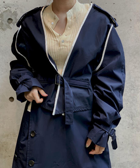 【RE;CIRCLE】L/S  Trench Short Jacket/ 5