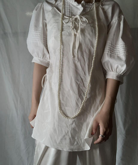 【USED】 Lace Up Camisole Top/210714-027