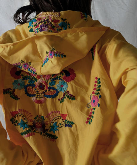 【RE;CIRCLE】RE Embroidery Ethnic Mexican Parker ⑦ /210601-009