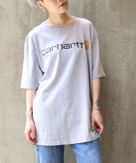 [USED] Carhartt T-SHIRT (GRAY2)
