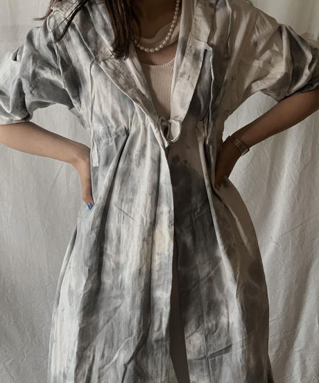 【RE;CIRCLE】RE Medical Tie dye  S/S Gown ② /210601-025