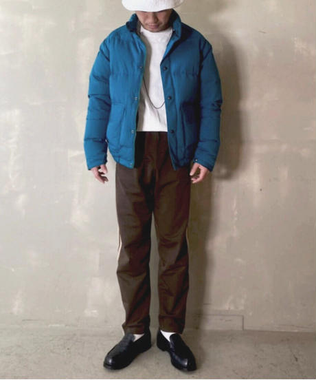 【THE UNION】 The Fabric Work Down Jacket / TF00355