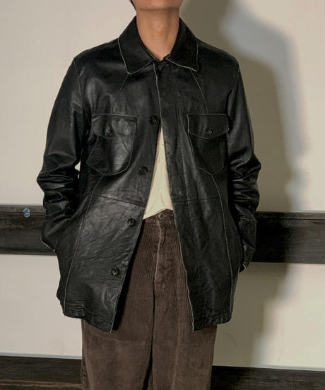 【Used】Leather Jacket /201020-042
