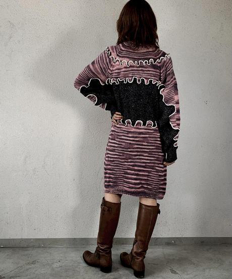 【RE;CIRCLE】 Mellow Knit Sweater ③ /210106-027