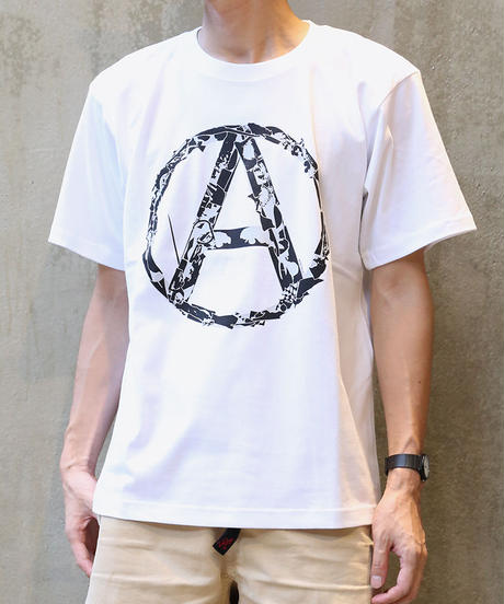 [montage] 森別注  Anarchy SS T-shirt (White)