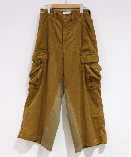[REMAKE] CORDUROY  WIDE PANTS 1