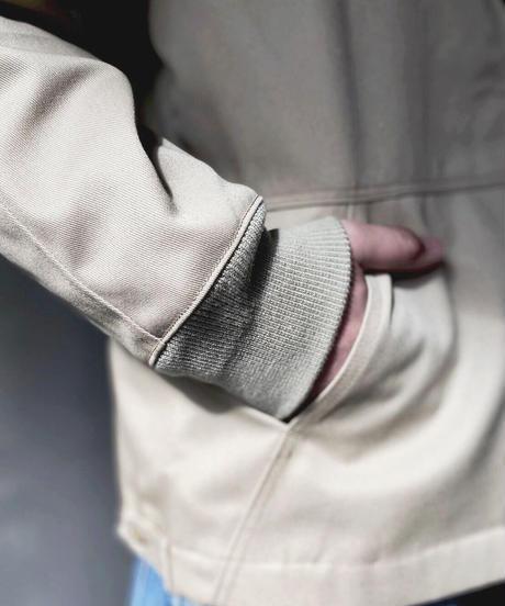 【A.D.A.N】  T/C Worker Jacket / ADANP0020