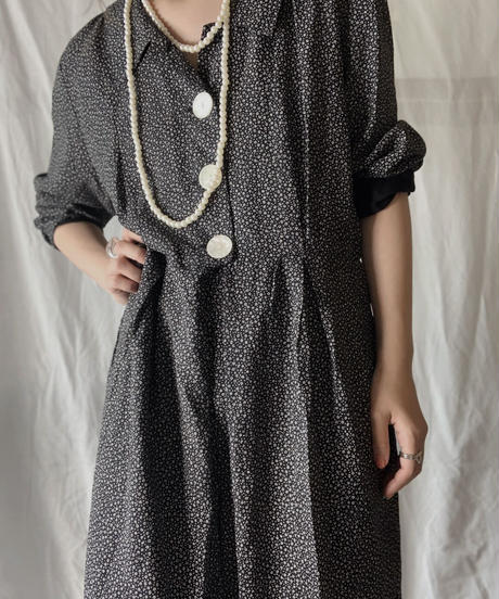 【USED】 Flower Patterned All In One/210714-031
