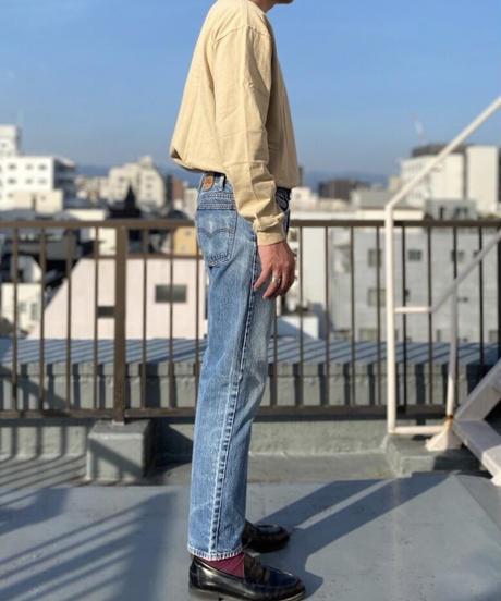 【MAX WEIGHT JERSEY】201  (Beige) (長袖)