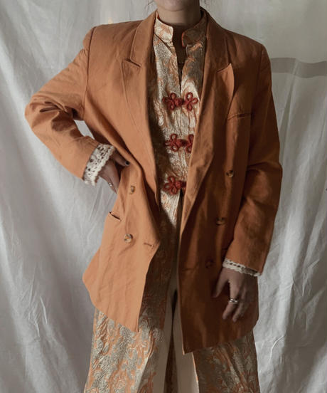 【USED】Double Button Jacket/210217-044