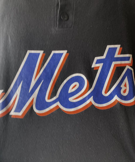 【USED】S/S T-shirt Mets /210602-034