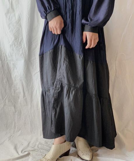 【RE;CIRCLE】 Remake Indy Cotton MUJI one-piece④/210331-004