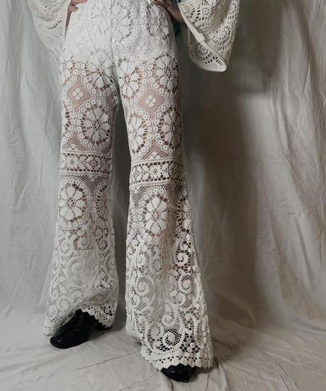 【RE;CIRCLE】 RE Lace Pants①/ 210714-001