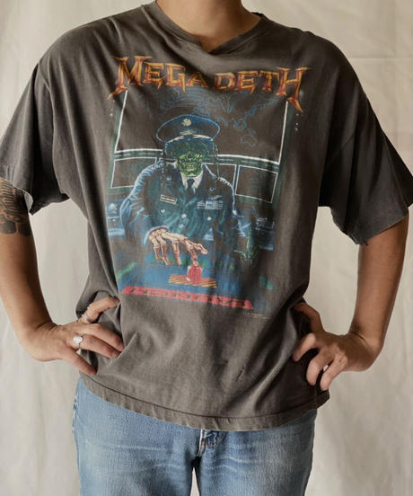 【USED】S/S T-shirt  MEGADETH/210825-005